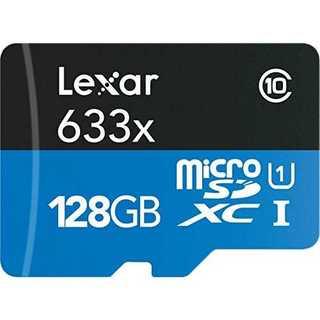 128GBLexar 95MB/s 633x Micro SD 128g Cla