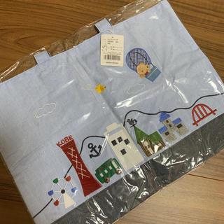 familiar - 新品 ファミリア×イカリ コラボ レッスンバッグ トート 神戸 ikari
