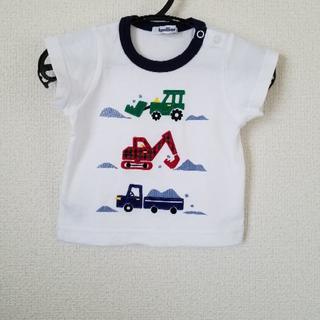 familiar - ファミリア Tシャツ 80 記名