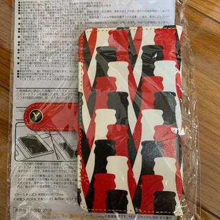 コカコーラ(コカ・コーラ)のコカコーラ イニシャル入り手帳型 スマホケース(スマホケース)