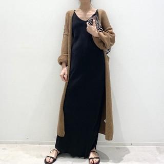 L'Appartement DEUXIEME CLASSE - 【OZMA/オズマ】 Camisole Dress ブラック36