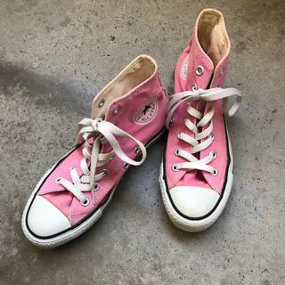 CONVERSE ピンク
