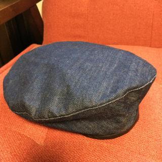 ビームス(BEAMS)のBEAMSデニムベレー帽(ハンチング/ベレー帽)