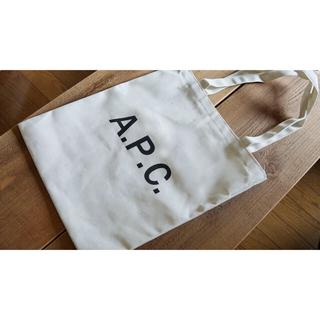 A.P.C - 【新品未使用】A.P.C. ロゴトートバック