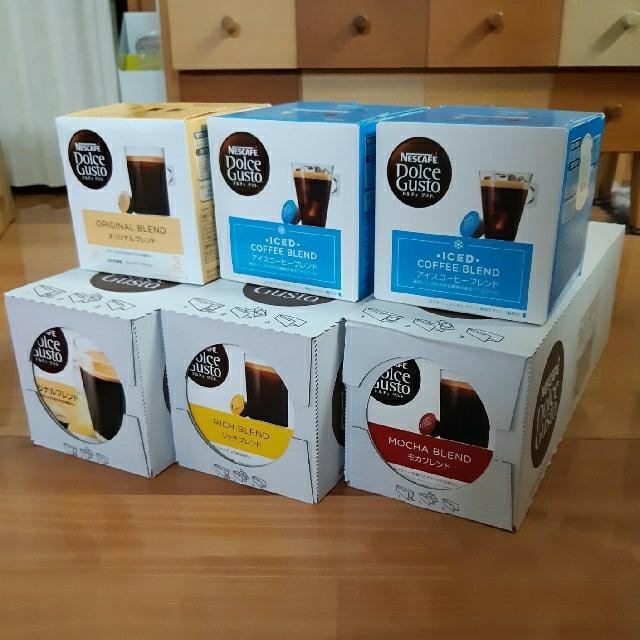 Nestle(ネスレ)のXYZ様専用 ドルチェグストカプセル 12箱 食品/飲料/酒の飲料(コーヒー)の商品写真