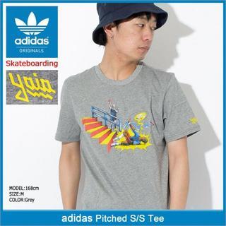 adidas skateboarding Tシャツ M スケボー 定価4059円(Tシャツ/カットソー(半袖/袖なし))