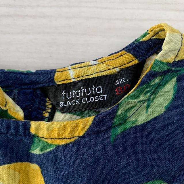トップス ブルマ レモン ノースリーブ キッズ/ベビー/マタニティのベビー服(~85cm)(ロンパース)の商品写真