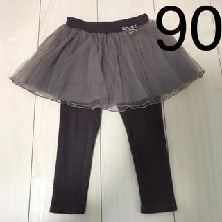 petit main - petitmain レギンス付きスカート