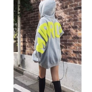 Rady - 浜崎あゆみ着♥レアミラーナイン♥ネオンアーチロゴパーカー GYDA CHANEL