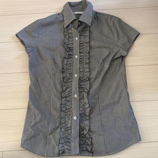 ギンガムシャツ レディース(シャツ/ブラウス(半袖/袖なし))