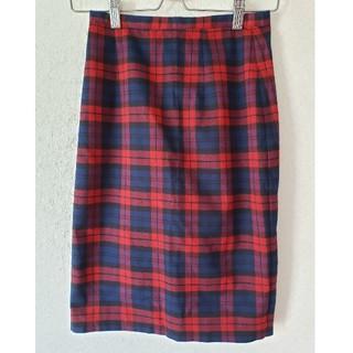 N.Natural beauty basic - N.チェックタイトスカート