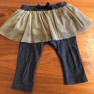 petit main - petitmain スカートスパッツ 70センチ