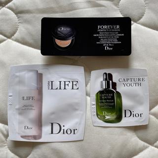 ディオール(Dior)のディオール ファンデ 美容液 クレンジング 試供品 セット(ファンデーション)