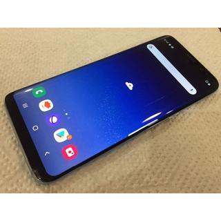 SAMSUNG - au  Galaxy  S8  SCV36   Coral Blue ジャンク品