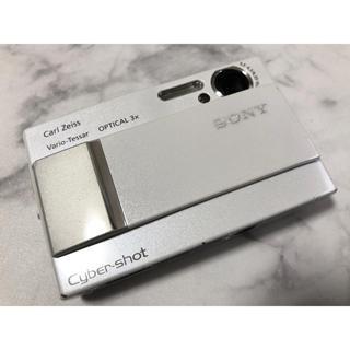 SONY - SONY ソニー Cyber−Shot DSC-T10 ホワイト デジタルカメラ