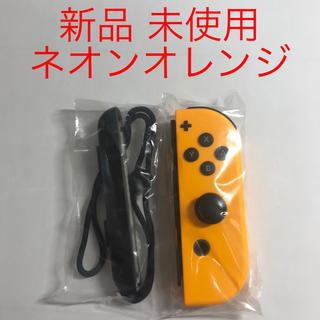 ニンテンドースイッチ(Nintendo Switch)の新品未使用 Switch Joy-Con R ネオンオレンジ 美品(家庭用ゲーム機本体)