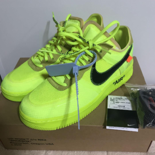 OFF-WHITE - nike off-white air force1 volt