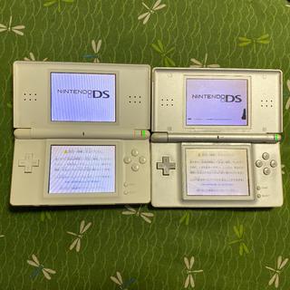 ニンテンドーDS(ニンテンドーDS)のニンテンドーDS lite 本体 二台 + ソフト多数(携帯用ゲーム機本体)