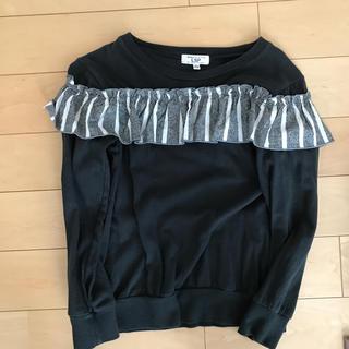 マーキーズ(MARKEY'S)の★フリルシャツ140 used★(Tシャツ/カットソー)