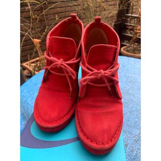 アニエスベー(agnes b.)の定価22000円! トゥービーバイアニエスベーのショートブーツ M 23センチ(ブーツ)