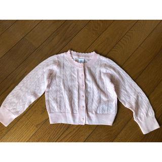 babyGAP - ギャップのカーディガン ピンク