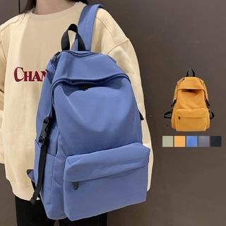 リュックサック A4サイズ バックパック 男女兼用 鞄 通勤 カラー:ブラック(リュック/バックパック)