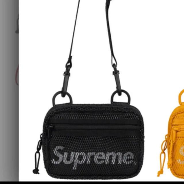 Supreme(シュプリーム)のsupreme shoulder Bag 黒 black メンズのバッグ(ショルダーバッグ)の商品写真