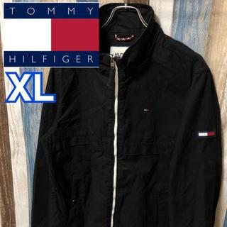 TOMMY HILFIGER - 激レア 【TOMMY HILFIGER】ブルゾン ジャケット フラッグロゴ 黒