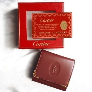 Cartier - 【最終値下げ致しました❣️】カルティエのコインケース