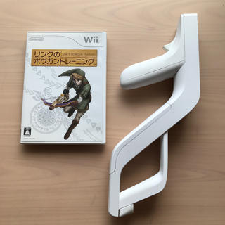 ウィー(Wii)のwii リンクのボウガントレーニング wiiザッパー(家庭用ゲームソフト)