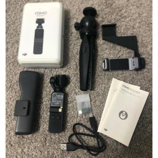 ゴープロ(GoPro)のosmo pocket 美品(ビデオカメラ)