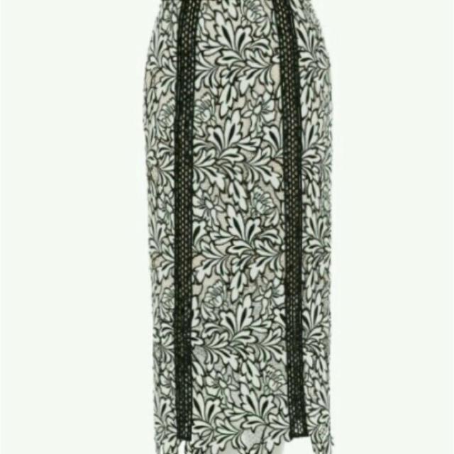 FRAY I.D(フレイアイディー)のFRAY I.D  ケミカルレース レディースのスカート(ロングスカート)の商品写真