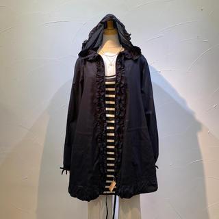 INGEBORG - インゲボルグ 綿ローン素材のパーカー付きジャケット一枚仕立て❗️気軽に楽しめそう