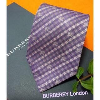 【期間限定】バーバリーロンドンBURBERRY LONDON最高級ネクタイ