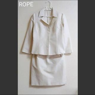 ROPE - 【美品】ROPE 春•夏 スカートスーツ  Mサイズ
