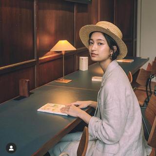 イエナ(IENA)の【IENA】anthanpeto カンカン帽(麦わら帽子/ストローハット)