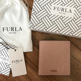 Furla - 新品!フルラ FURLA 二つ折り財布 ピンクベージュ ムーンストーン