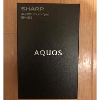 SHARP - AQUOS R2 compact SHM09W 白 国内版SIMフリー