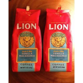 ライオンコーヒー バニラマカダミア 287g × 2袋