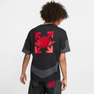 ナイキ(NIKE)のNIKE AIR JORDAN OFF WHITE TEE M Tシャツ(Tシャツ/カットソー(半袖/袖なし))