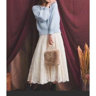 Noela - Noela コードレーススカート オフホワイト