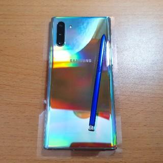 SAMSUNG - Samsung Galaxy Note 10 5G 美品 本体のみ