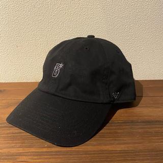 横浜DeNAベイスターズ - 横浜Denaベイスターズ 47Brand ミニロゴ&レザー キャップ 黒