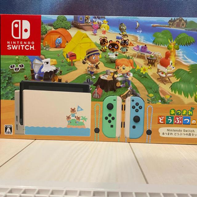 Nintendo Switch(ニンテンドースイッチ)のニンテンドースイッチ あつまれ動物の森 エンタメ/ホビーのゲームソフト/ゲーム機本体(家庭用ゲーム機本体)の商品写真