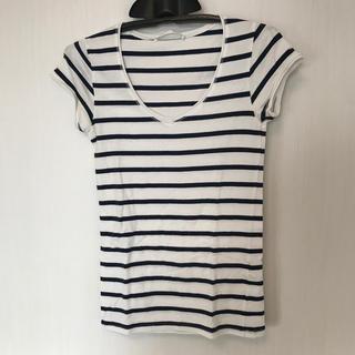 ZARA - ♡ZARA♡Tシャツ M ボーダー シャツ