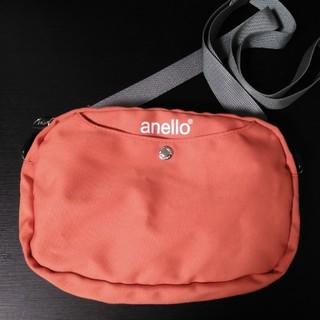 アネロ(anello)のanello アネロ ショルダーバッグ オレンジ(ショルダーバッグ)