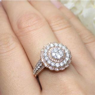 ダイヤモンド/ピンクダイヤモンドリング 11.5号(リング(指輪))