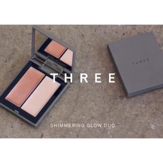 THREE - THREE スリー シマリンググローデュオ01 【クーポン使えます】