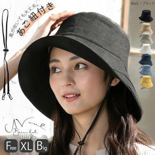 帽子屋 QUEENHEAD  レディース 帽子 大きめ XLサイズ