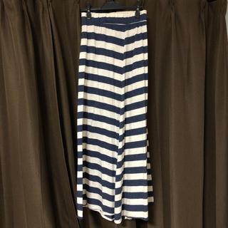 FREE'S MART - ロングスカート マキシスカート ボーダー スカート FREE'S MART